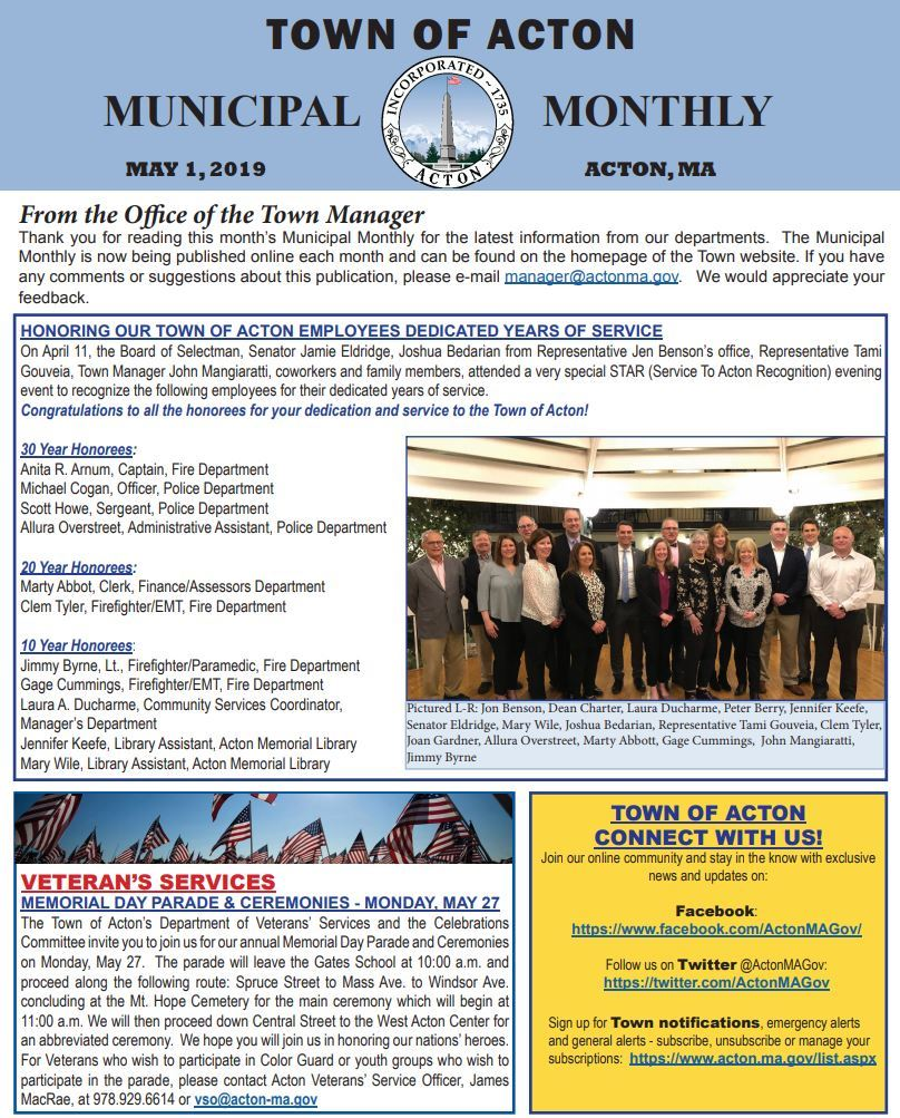 Municipal Monthly May 2019 indd