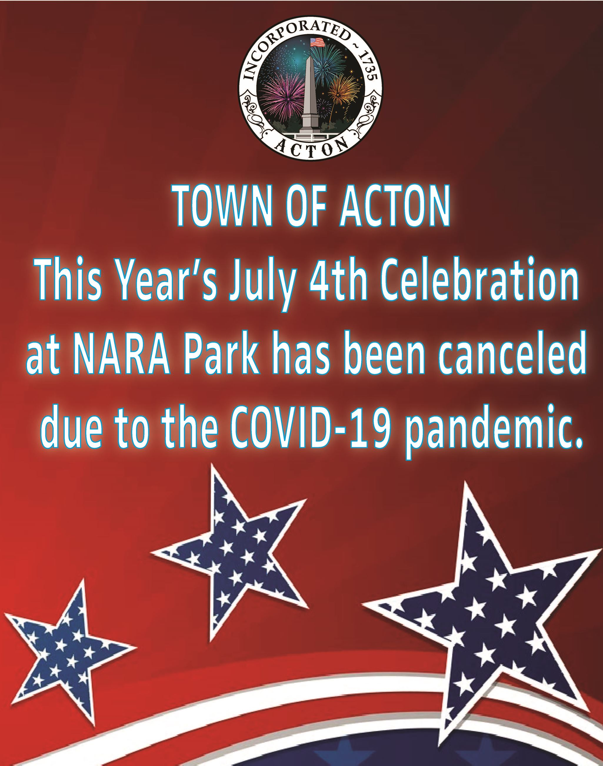 July 4th cancellation